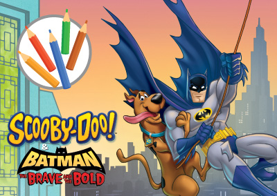 Scooby Batman Colouring In | WBKids